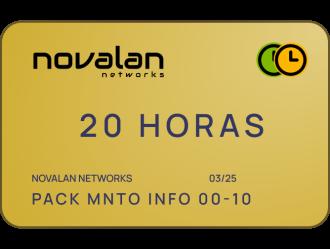 Servicios Informáticos - Pack 20H