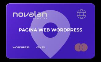 Página web - Wordpress